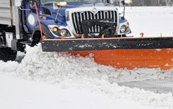 Śnieżny pług Zdjęcia Stock