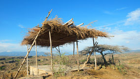 Nieociosana budowa w Desierto De Los angeles Tatacoa fotografia stock