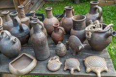 Nieociosana ceramiczna praca ceramika Obrazy Stock