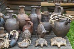 Nieociosana ceramiczna praca ceramika Zdjęcie Royalty Free