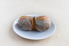 Nieociosana chlebowa rolka Obraz Royalty Free
