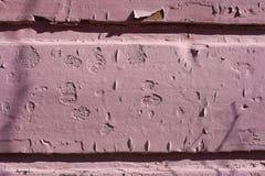 Nieociosana czerwieni ściany tekstura fotografująca w starym grodzkim Porvoo, Finlandia obraz stock