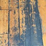 Nieociosana drewniana podłoga obraz royalty free
