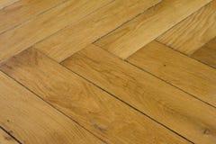 Nieociosana Drewniana podłoga Zdjęcie Stock