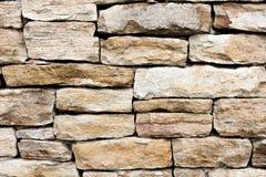 Nieociosana kamień ściana Obrazy Stock