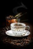 Nieociosana kawa Zdjęcia Stock