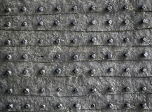 Nieociosana metal tekstura Fotografia Stock