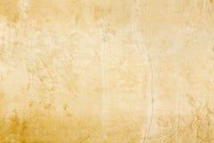 Nieociosana stara Europejska klasyczna stylowa złocista stiuk ściany śniedzi tła tekstura obraz royalty free