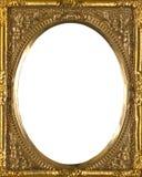 Nieociosana Złota obrazek rama Obraz Royalty Free