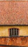 Nieociosane dachowe płytki Provence France Zdjęcie Stock