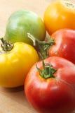 Nieociosani pomidory Zdjęcia Royalty Free