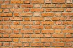 Nieociosany ściana z cegieł tło Zdjęcie Stock