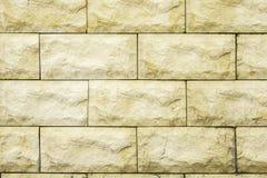Nieociosany ściana z cegieł tło Textured cegła Obraz Royalty Free