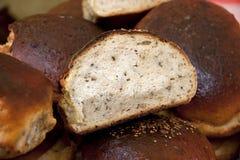 Nieociosany żyto chleb obraz stock