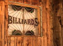 Nieociosany Billiards znak Zdjęcie Royalty Free