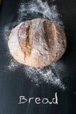 Nieociosany chleb zdjęcia royalty free
