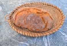 Nieociosany domu wiejskiego chleb Obraz Royalty Free