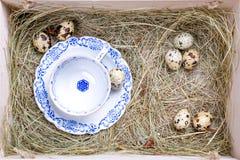 Nieociosany Easter pudełko zdjęcia royalty free