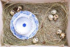 Nieociosany Easter pudełko Obraz Stock