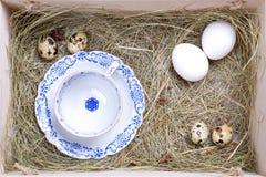Nieociosany Easter pudełko Obrazy Royalty Free