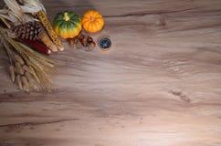 nieociosany jesieni wciąż życie z baniami Obrazy Stock