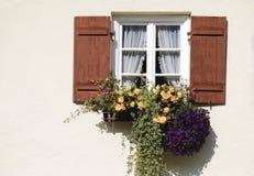 Nieociosany okno Fotografia Royalty Free