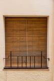 Nieociosany okno outdoors Zdjęcia Stock