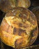 Nieociosany sourdough chleb Fotografia Stock
