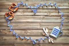 Nieociosany tło dla Oktoberfest Fotografia Stock