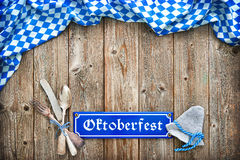 Nieociosany tło dla Oktoberfest Obrazy Stock