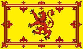 nieokiełznany lwa scottish Zdjęcia Royalty Free