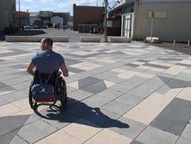 niepełnosprawna osoba Obrazy Royalty Free