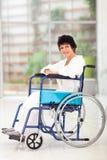 Niepełnosprawna w średnim wieku kobieta zdjęcie royalty free