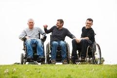 Niepełnosprawni przyjaciele Zdjęcia Royalty Free