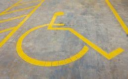 niepełnosprawni znak obraz royalty free