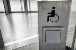 Niepełnosprawny znak Fotografia Stock