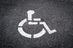 Niepełnosprawna ikona Obrazy Royalty Free