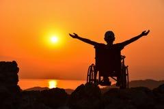 niepełnosprawna osoba fotografia royalty free
