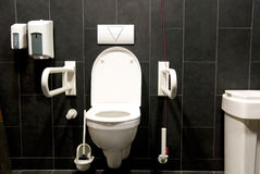 niepełnosprawna toaleta Zdjęcie Stock