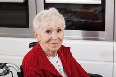 Niepełnosprawne starsze osoby Obraz Stock