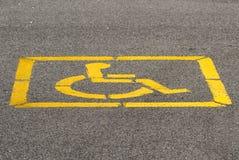 niepełnosprawni Fotografia Royalty Free