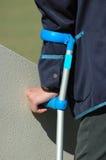 niepełnosprawni rannych Zdjęcia Royalty Free