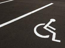 niepełnosprawny Zdjęcie Royalty Free