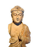 Niepełnosprawny antykwarski Buddha zdjęcie stock