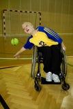 niepełnosprawny osoby sporta wózek inwalidzki Zdjęcia Stock