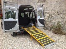 Niepełnosprawny taxi Zdjęcia Stock