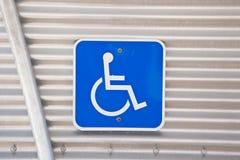 niepełnosprawny zarezewowany Obraz Royalty Free