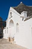 Niepodległy trullo. Alberobello. Puglia. Włochy. Zdjęcie Royalty Free