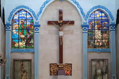 Niepokalanego poczęcia parafia obraz stock