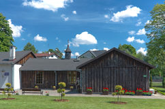 Churches of Poland - Niepokalanow Stock Photography